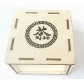 Čajový box na hnízdo tuocha znak Čaj