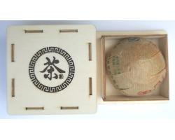 Archivní sheng puer hnízdo 2007 Bang Zhan Zheng Shan TF 5x100g
