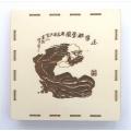 Dřevěná čajová krabička na 200g koláč Daruma Spirit