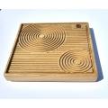 Čajové moře Shengmu Groove čtverec malé 20x20cm
