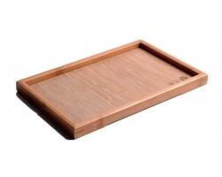 Čajový bambusový tácek A065