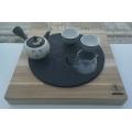 Čajové moře Shengmu s kamenem Zen