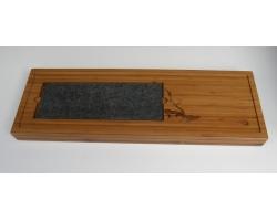 Čajové moře velké s kamenem (58x20x4cm)