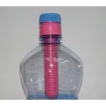 Čajový filtr na PET láhev černý a růžový 2ks