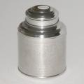 Čajová dóza stříbrná
