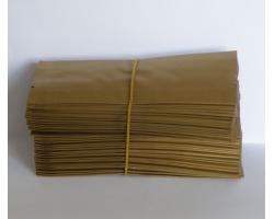 Čajový sáček malý zlatý 5,5x12,5cm 100ks