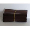 Čajový sáček malý hnědý 5,5x12,5cm 100ks