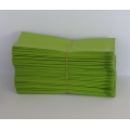Čajový sáček malý zelený 5,5x12,5cm 100ks